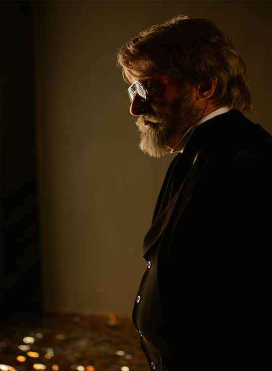 Shamitabh Amitabh Bachchan In Black Suit Stills