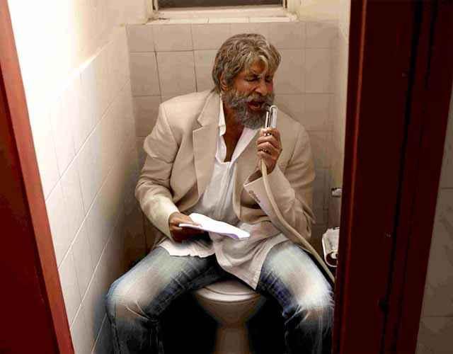 Shamitabh Amitabh Bachchan In Piddly Song Stills