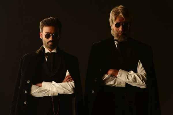 Shamitabh Dhanush Amitabh Bachchan With Goggle Stills