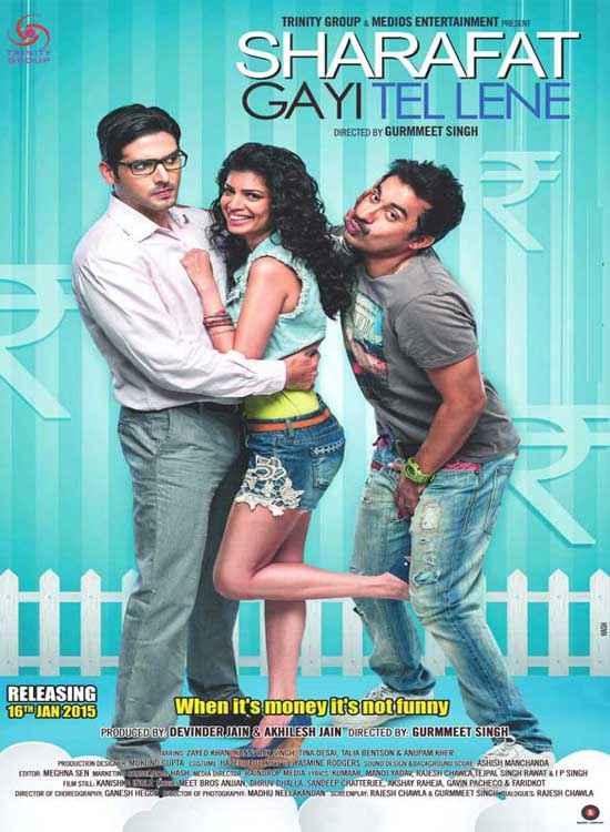 Sharafat Gayi Tel Lene First Look Poster