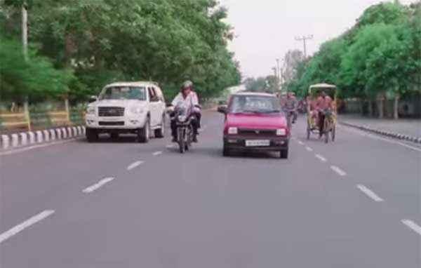 Sharafat Gayi Tel Lene Car Pics Stills