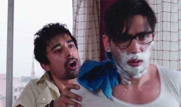 Sharafat Gayi Tel Lene Rannvijay Singh Zayed Khan Making Beard Stills