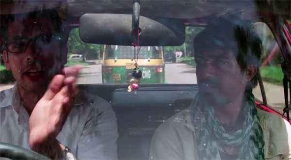 Sharafat Gayi Tel Lene Zayed Khan Rannvijay Singh In Car Stills