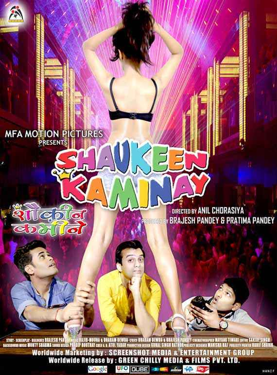 Shaukeen Kaminay Image Poster