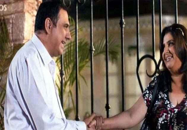 Shirin Farhad Ki Toh Nikal Padi Boman Irani Farah Khan Romantic Scene Stills