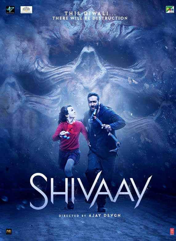 Shivaay Ajay Devgan Erika Kaar Poster