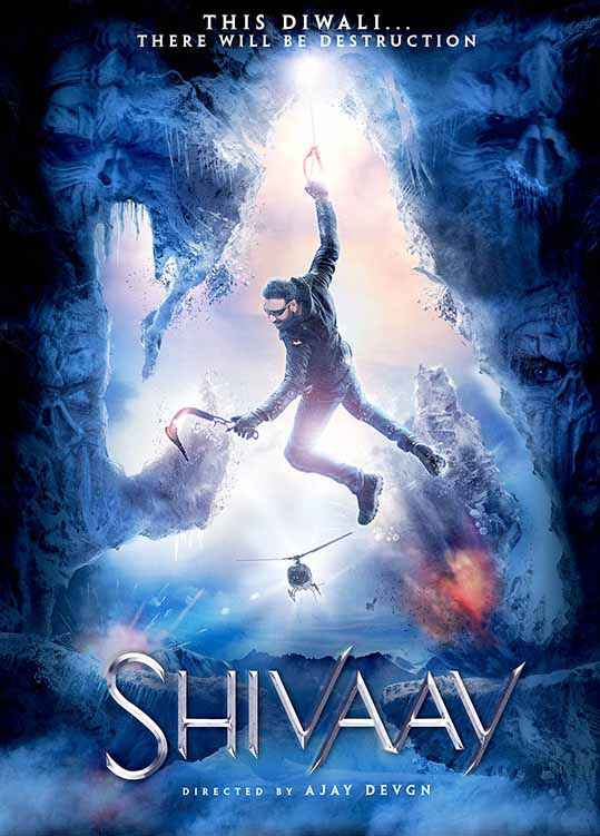 Shivaay Ajay Devgan Poster
