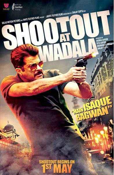 Shootout At Wadala Anil Kapoor Poster