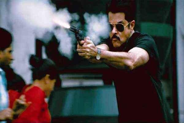 Shootout At Wadala Anil Kapoor with Gun Stills