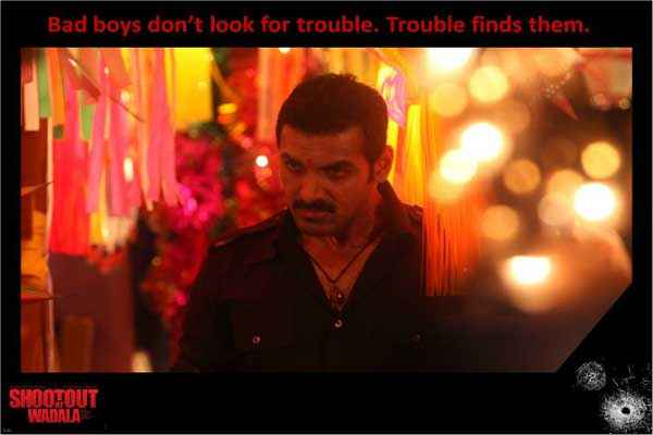 Shootout At Wadala John Abraham Bad Boy Look Stills