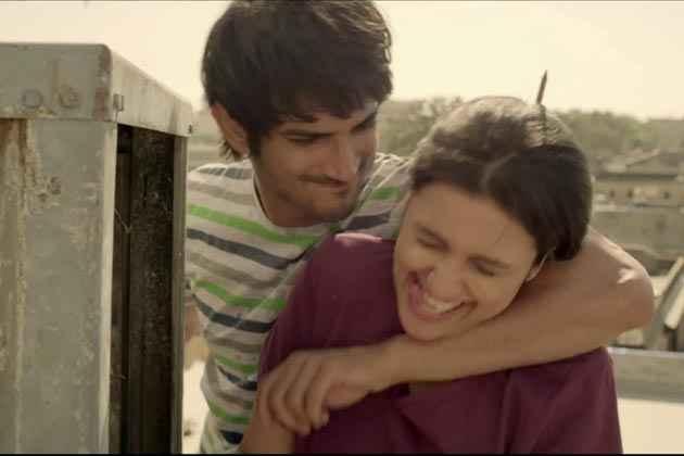 Shuddh Desi Romance Romantic Scene Stills