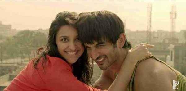 Shuddh Desi Romance Sushant Singh Parineeti Chopra In Funny Mood Stills