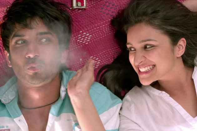 Shuddh Desi Romance Sushant Singh Rajput Parineeti Chopra Smoking Scene Stills