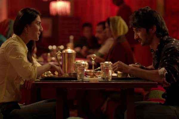 Shuddh Desi Romance Sushant Singh Vaani Kapoor In Dinner Scene Stills