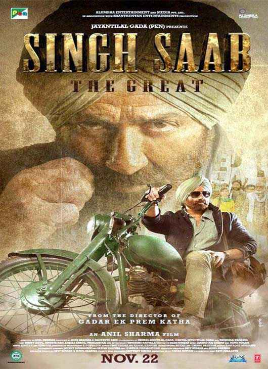 Singh Saab The Great First Look Poster