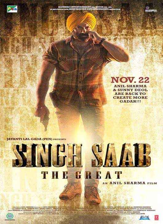 Singh Saab The Great Wallpaper Poster