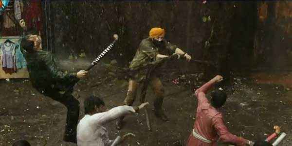 Singh Saab The Great Action Scene Stills