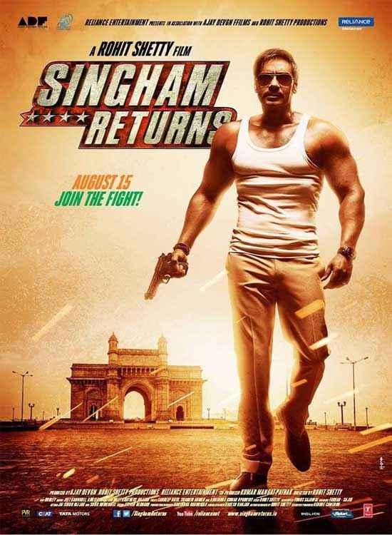 Singham Returns Ajay Devgn Poster
