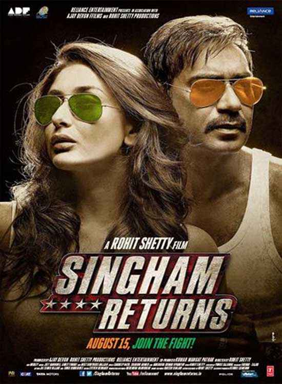 Singham Returns First Look Poster