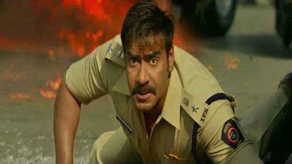 Singham Returns Ajay Devgn Acting Pics Stills