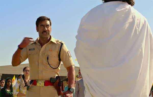 Singham Returns Ajay Devgn Acting Stills