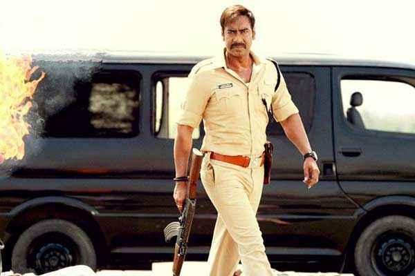 Singham Returns Ajay Devgn Action With Gun Stills