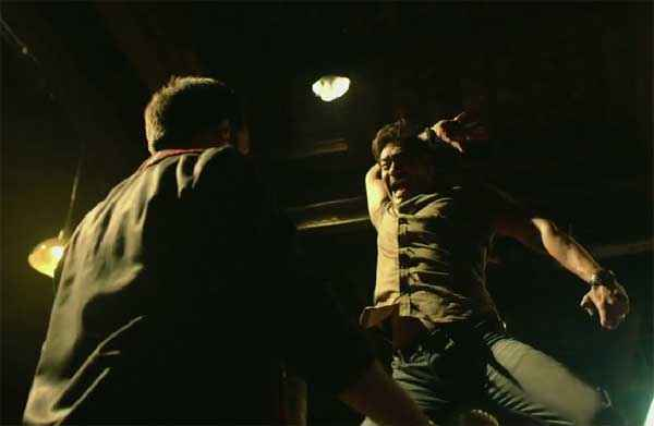 Singham Returns Ajay Devgn Hand Action Scene Stills