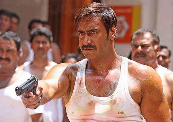 Singham Returns Ajay Devgn In Baniyaan Stills