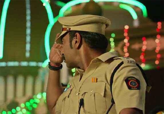 Singham Returns Ajay Devgn Saloot Pics Stills