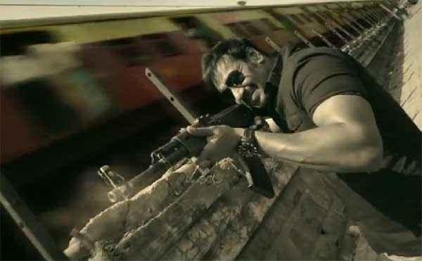 Singham Returns Ajay Devgn Shooter Gun Stills