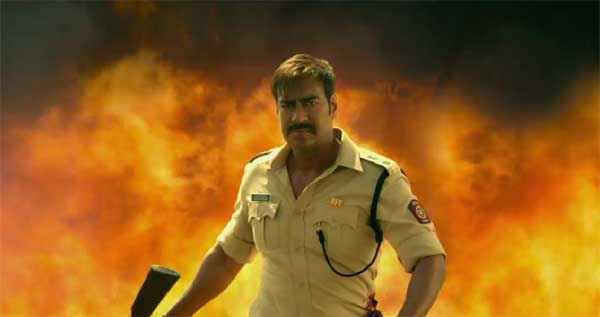 Singham Returns Ajay Devgn Wallpaper Stills