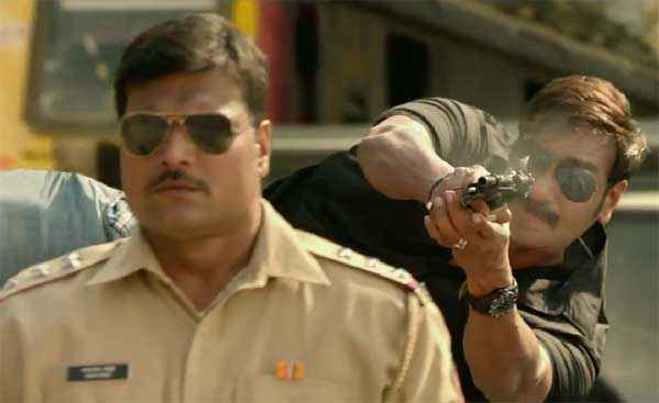 Singham Returns Dayanand Shetty Ajay Devgn Action Stills