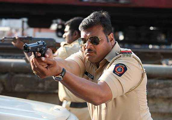 Singham Returns Dayanand Shetty With Goggle Stills