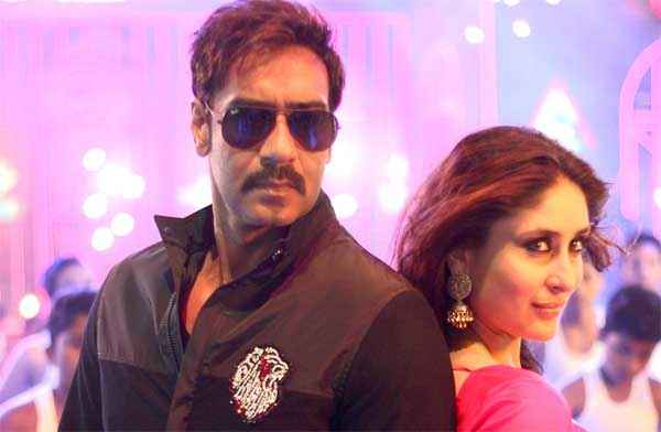 Singham Returns Kareena Kapoor Ajay Devgn Aata Majhi Satakli Item Song Stills
