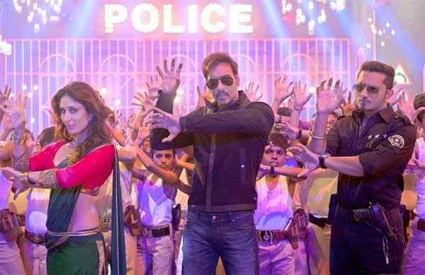 Singham Returns Kareena Kapoor Ajay Devgn Honey Singh Aata Majhi Satakli Stills
