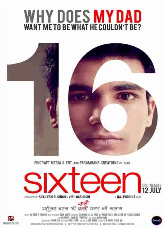 Sixteen First Look Wallpaper Poster