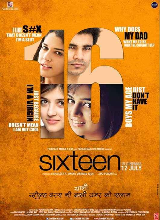Sixteen New Poster