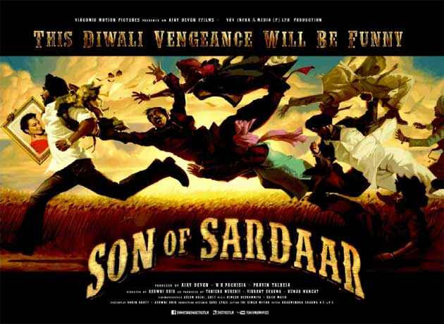 Son Of Sardaar Images Poster