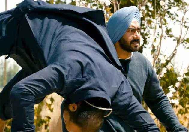 Son Of Sardar Ajay Devgan In Action Scene Stills