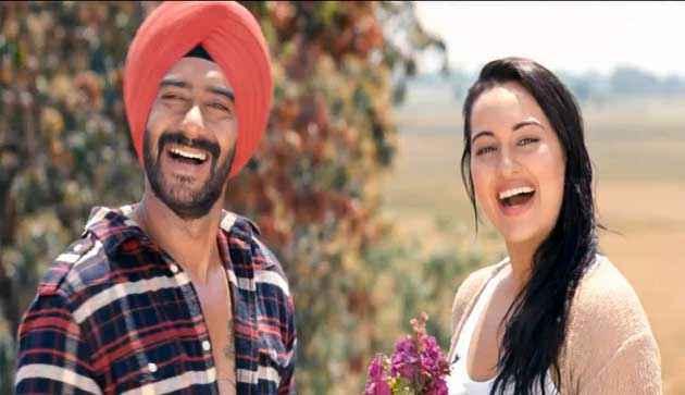 Son Of Sardar Ajay Devgan Sonakshi Sinha Scene Stills