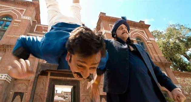 Son Of Sardar Sanjay Dutt In Action Scene Stills