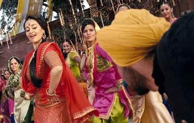 Son Of Sardaar Sonakshi Sinha Dance Stills