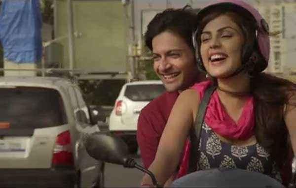 Sonali Cable Rhea Chakraborty Ali Fazal On Scooter Stills