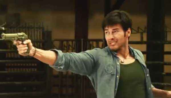 Spark Rajneesh Duggal With Gun Stills