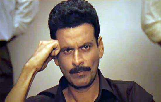 Special Chabbis Manoj Bajpai in Black Shirt Stills