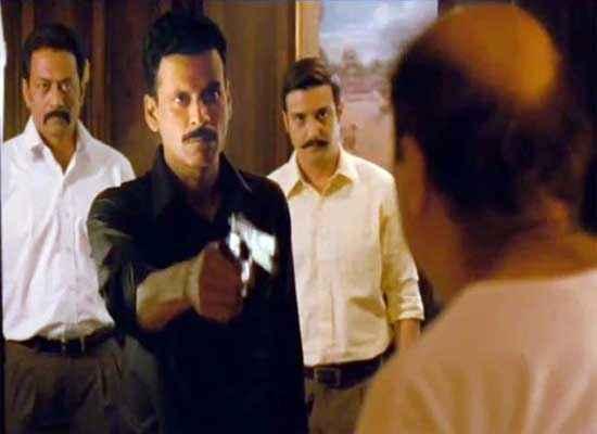 Special Chabbis Manoj Bajpai with Gun Stills