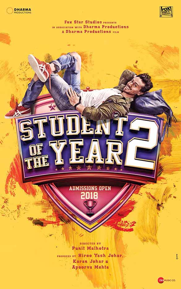Student Of The Year 2 Poster