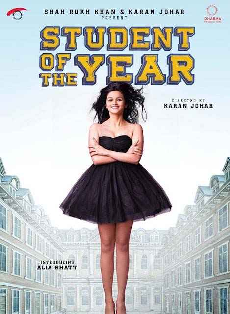 Student of the Year Alia Bhatt Poster
