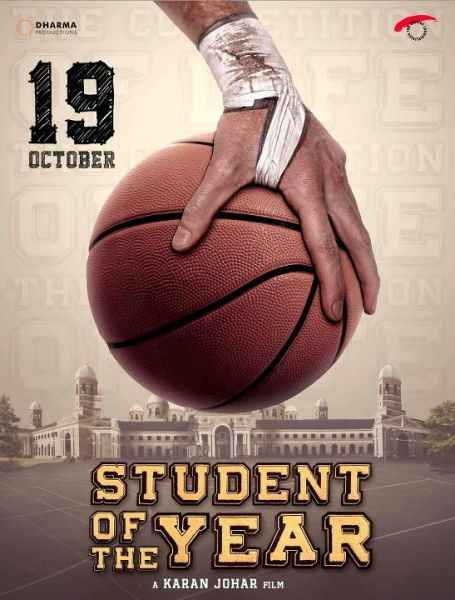 Student of the Year Image Poster