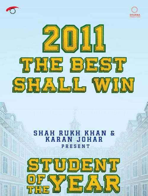 Student of the Year Images Poster